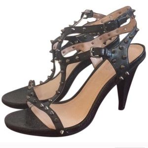 Kenneth Cole Reaction studded heels sz 8.5
